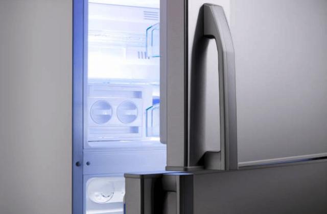 broken refrigerator door