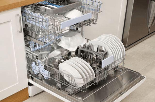 full dishwasher rack
